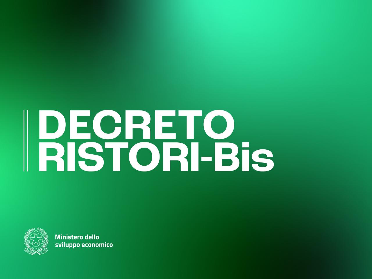 Decreto Ristori Bis